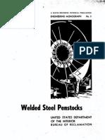 Penstock Design USBR