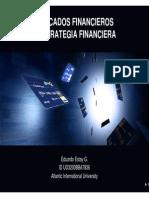 Mercados Financieros y Estrategia Financiera