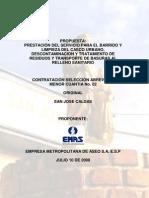 Portada Sobre Licitacion San Jose (COPIA)
