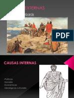 Diapositivas Caida Del Imperio Romano