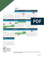 Calendario Escolar 2013 2014