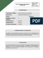 Programa Especializacion Soldaduras i