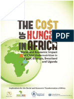 The Cost of Hunger in Africa