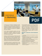 Licenciatura en Marketing
