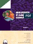 Cartilla Nº 1.Mujeres y Cambio Climático