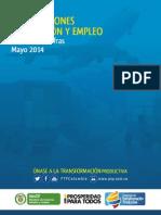 Producción Empleo Exportaciones PTP | Mayo 2014
