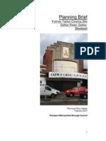 Tatton Cinema Development brief