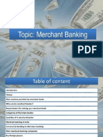 all about Merchant Banking