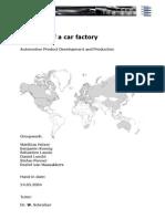 Car Planning Factory
