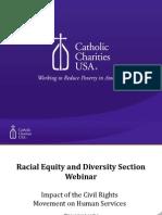 Racial Equity and Diversity Webinar