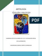 Antología Sens. y Perc.