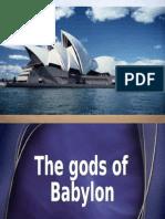 The gods of Babylon (slides)