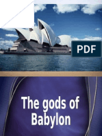 The gods of Babylon (slides)
