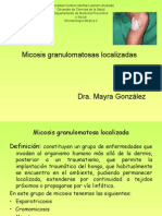 2.- Micosis localizadas
