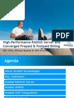18 Aradial Radius Server 2002