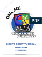 Alfacon Tecnico Do Inss Fcc Direito Constitucional Daniel Sena 5o Enc 2014