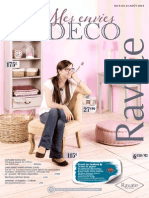 "Catalogue ""Mes envies Déco"""
