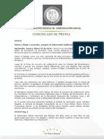 05-03-2010   El Gobernador Guillermo Padrés firmó como testigo de honor, el convenio de colaboración para los festejos del bicentenario y centenario de la revolución mexicana. B031019