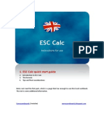 ESC Calc Generic Instructions (English)
