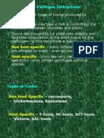 Toxins Plant -Pathogens
