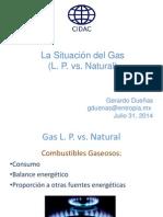 GERARDO DUEÑAS La Situacion del Gas (LP vs Nat)