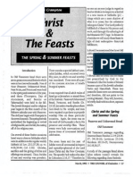 1992 Issue 3 - Christ and the Feasts