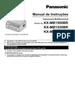 KX MB1500BR Portuguese
