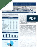 BCR - Reporte de Inflación - Abril 2014 - Síntesis