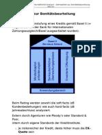1 Finanzwirtschaftliche Analyse