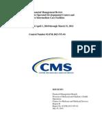 NY Medicaid audit Final Report