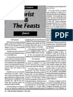 1992 Issue 5 - Christ and the Feasts