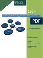 Dr. Leyva.ensayo-Cutura Organizacional e Innovación