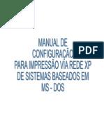 Manual Configuracao Impressora DOS