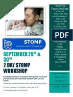 2014 AF STOMP Workshop