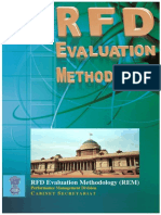 RFD Evaluation Methodology (REM)