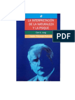 Jung Carl Gustav - La Interpretacion De La Naturaleza Y La Psique.PDF