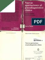 Nuevas Aportaciones Al Psicodiagnóstico Clínico - Parte 1