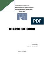 Diario de Obra Exposicion