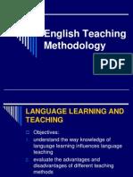 English Teaching Methodology