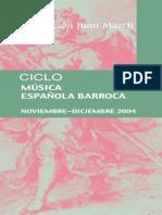 Ciclo Musica Barroca