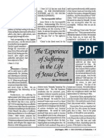 1992 Issue 7 - Sermon on I Peter 3:17-22 - The Experience of Suffering in the Life of Jesus Christ - Counsel of Chalcedon