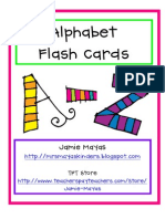 Alphabet Flashcards Az