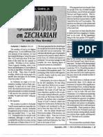 1992 Issue 8 - Sermons on Zechariah