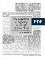 1992 Issue 8 - Sermon on I Peter 3:17-22 - The Consequences of Christ's Suffering - Counsel of Chalcedon