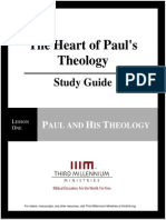 The Heart of Paul's Theology - Lesson 1 - Study Guide