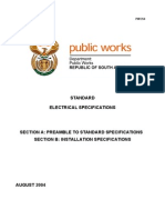 General Electrical Specification PartA and PartB
