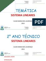 SISTEMAS LINEARES(2)