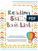 reading skills book list