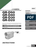 Manual Camera Video JVC