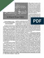 1992 Issue 9 - Sermons of Benjamin Palmer